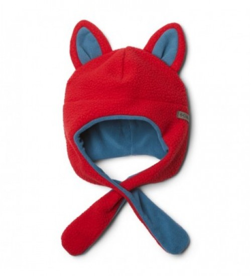 Columbia kepurė TINY ANIMAL BEANIE II. Spalva raudona / pilka