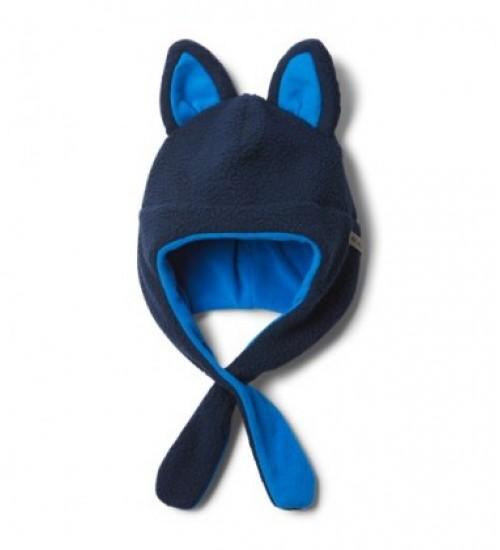 Columbia kepurė TINY ANIMAL BEANIE II. Spalva mėlyna / tamsiai mėlyna