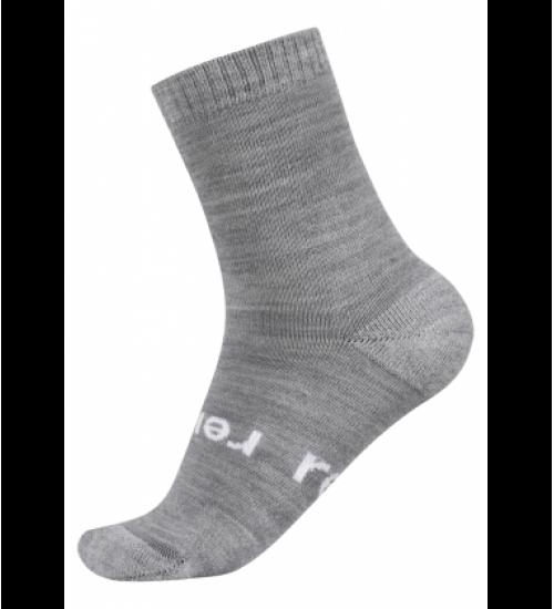 Reima kojinės WARMWOOLMIX. Spalva šviesiai pilka