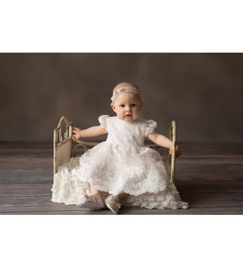 Balumi suknelė Liliana. Spalva šviesiai kreminė