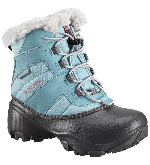 Columbia Sniego batai YOUTH ROPE TOW III. Spalva juoda / šviesiai mėlyna
