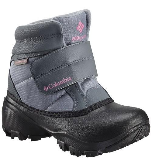 Columbia žiemos batai Rope Tow KRUSER. Spalva juoda / pilka / šviesiai pilka