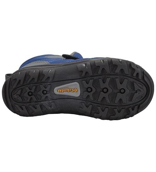 Columbia žiemos batai berniukui YOUTH FAIRBANKS. Spalva pilka / mėlyna