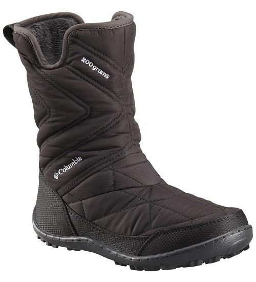 Columbia žiemos batai mergaitei YOUTH MINX SLIP III. Spalva juoda