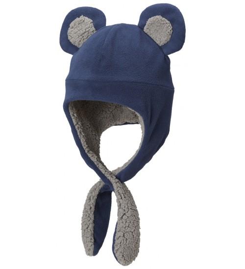 Columbia kepurė TODDLER TINY BEAR II. Spalva tamsiai mėlyna