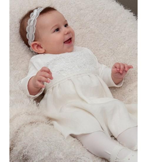 Balumi suknelė Emma. Šviesiai kreminės spalvos