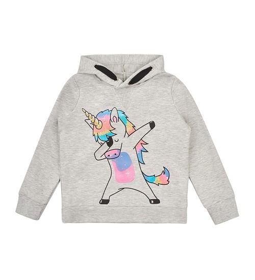 Garnamama džemperiukas mergaitėms. Spalva pilka