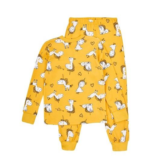 Garnamama pižama. Spalva geltona