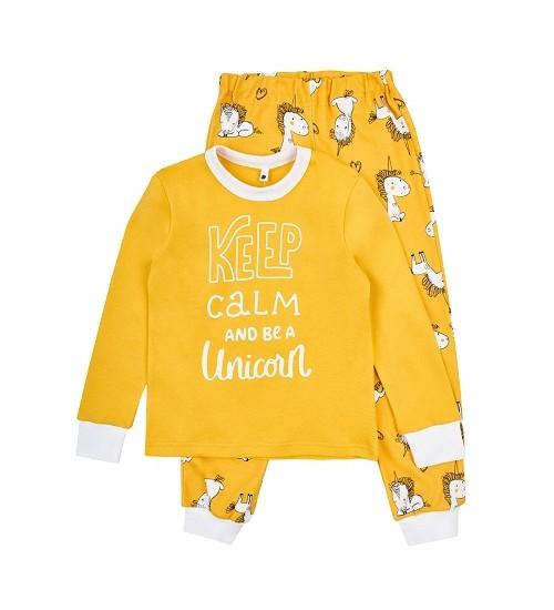 Garnamama pižama berniukams. Spalva geltona