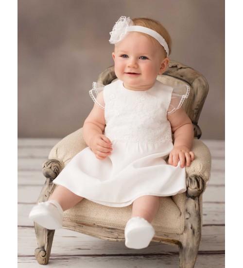 Balumi suknelė Marcelina. Spalva šviesiai kreminė