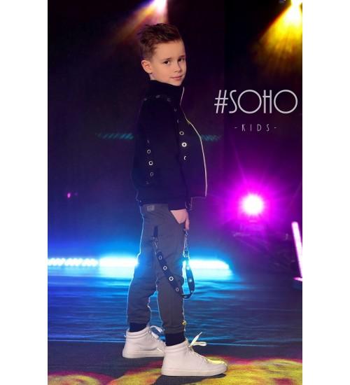 #Soho džemperis berniukui. Spalva juoda