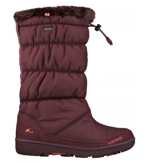 Viking žiemos batai AMBER GTX. Spalva bordo