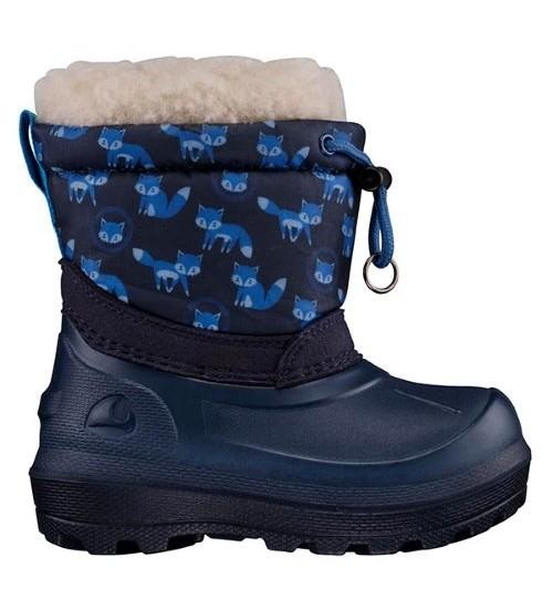 Viking žiemos batai SNOWFALL FOX. Spalva mėlyna