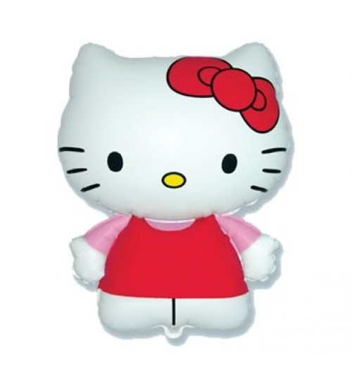 "Folinis helio balionas ""Hello Kitty"""