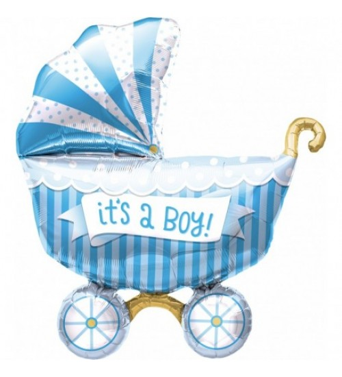 "Folinis helio balionas ""Its a boy"""