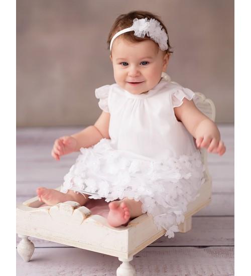 Balumi suknelė Emily. Spalva balta