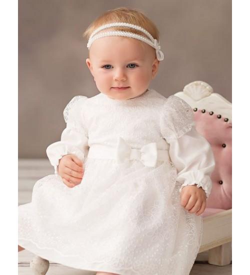 Balumi suknelė Felicja. Spalva šviesiai kreminė