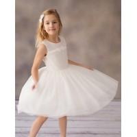 Balumi suknelė Kate 128-146cm. Spalva balta