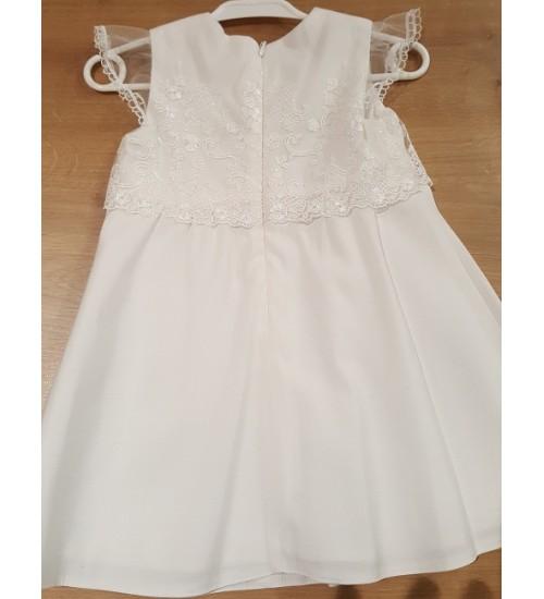 Balumi suknelė Marcelina 74-86cm. Spalva šviesiai kreminė