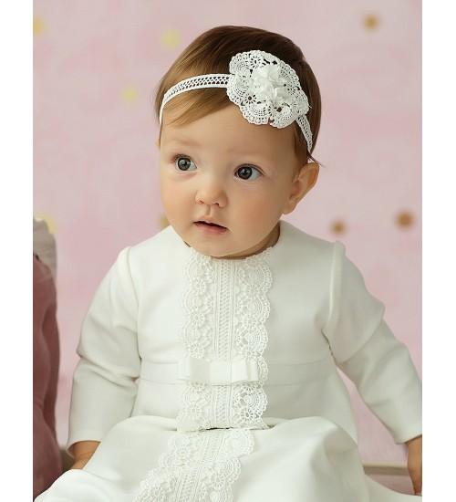 Balumi suknelė Zoja. Spalva šviesi kreminė