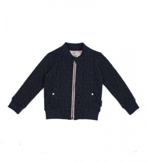 Koko - Noko džemperis mergaitei . Spalva tamsiai mėlyna