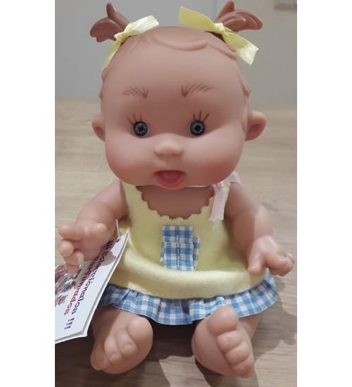 Nines d'Onil lėlytė Pepotin ( mergaitė su geltona suknele 21 cm)
