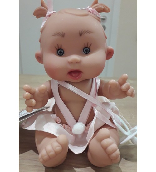 Nines d'Onil lėlytė Pepotin ( mergaitė su rožiniu sijonuku 21 cm)