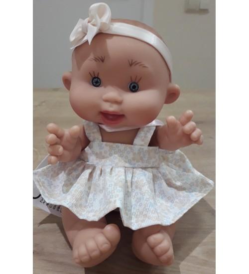 Nines d'Onil lėlytė Pepotin ( mergaitė garbanė su geltona juostele 21 cm)