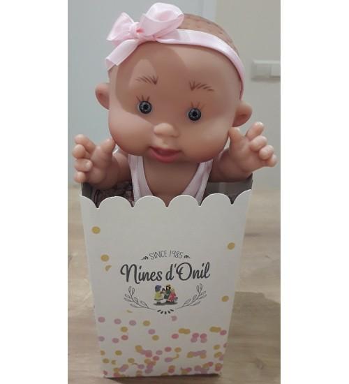 Nines d'Onil lėlytė Pepotin ( mergaitė garbanė 21 cm)