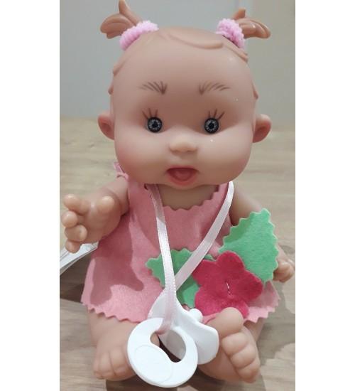 Nines d'Onil lėlytė Pepotin ( mergaitė su rožine suknele 21 cm)