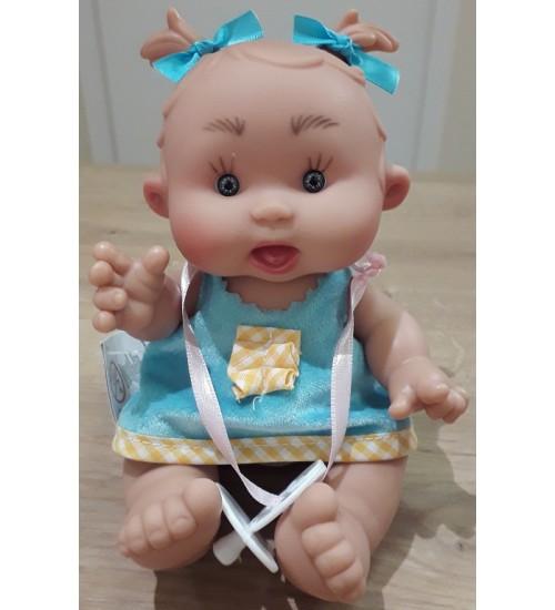 Nines d'Onil lėlytė Pepotin ( mergaitė su mėlinais kaspinėliais 21 cm)