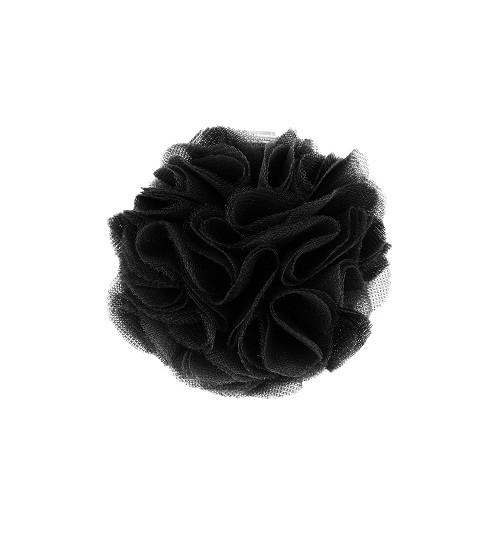 Manufaktura Falbanek segtukas su pomponu. Spalva juoda