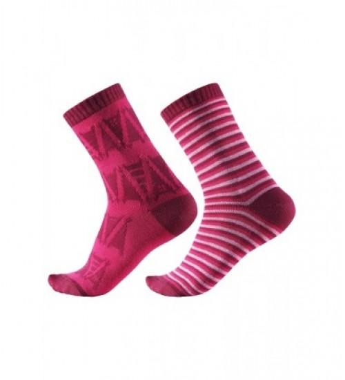 Reima kojinės Strum. Spalva ryškiai rožinė