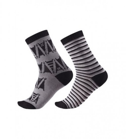 Reima kojinės Strum. Spalva juoda/pilka