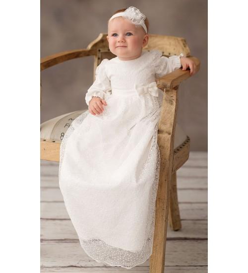 Balumi suknelė Fryderyka. Spalva šviesiai kreminė