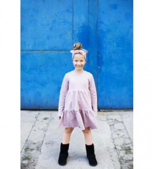 Tuss vaikiška suknelė. Spalva rožinė